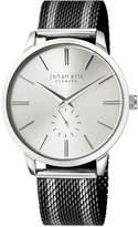 Johan Eric Men's Kolding Watch w/ Mesh Strap, Black/Silvertone