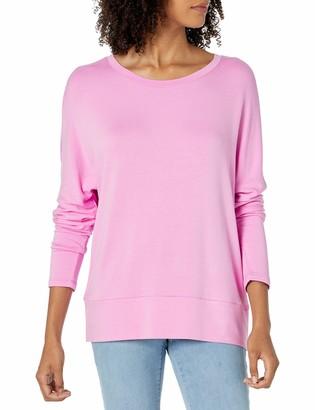 Daily Ritual Women's Standard Supersoft Terry Dolman Cuff Sweatshirt