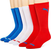 Puma Mens 6-pk. Crew Socks