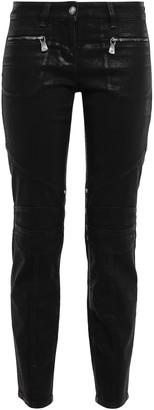 Versace Low-rise Slim-leg Jeans