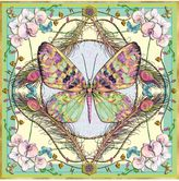 Matthew Williamson Pack of 6 Butterfly & Orchid Square Greeting Cards