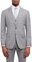 Jaeger Super 100s Wool Regular Fit Suit Jacket, Grey