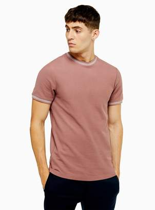Topman FARAH Purple Potter T-Shirt*