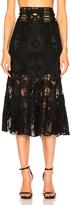 Jonathan Simkhai Corded Linear Godet Skirt
