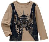 Tea Collection Kyoto Graphic Long Sleeve Tee (Toddler, Little Boys, & Big Boys)