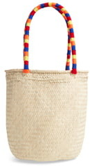 Brixton Leah Woven Straw Tote