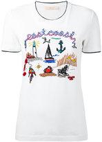 Tory Burch East Coast T-shirt - women - Cotton - S