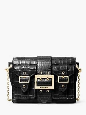 Michael Kors MICHAEL Hayden Leather Messenger Bag