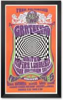 "Art.com Grateful Dead in Concert, 1966"" Framed Art Print by Bob Masse"