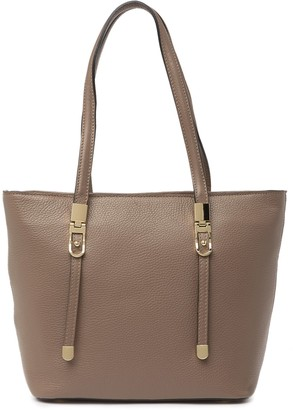 Persaman New York Angeles Leather Tote Bag