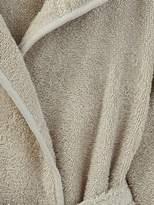 Child's Hooded Bathrobe - grey blue, Furniture & Bedding   Vertbaudet