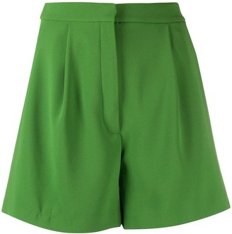Kenzo pleated A-line shorts