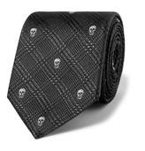 Alexander Mcqueen - Skull-jacquard Silk Tie