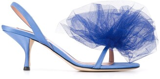 Marco De Vincenzo Bow Detail Sandals