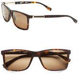 HUGO BOSS 57mm Wayfarer Sunglasses