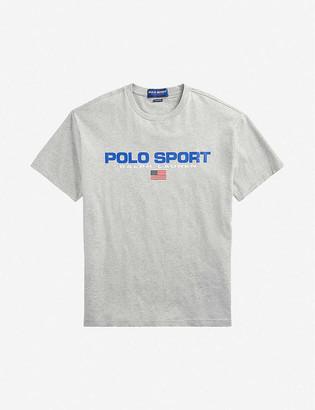 Polo Ralph Lauren Sport-print cotton-jersey T-shirt
