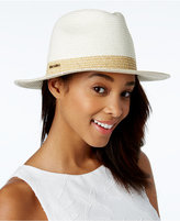 Calvin Klein Sequined-Band Fedora