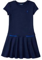 Ralph Lauren Fleece Short-Sleeve Tee Dress