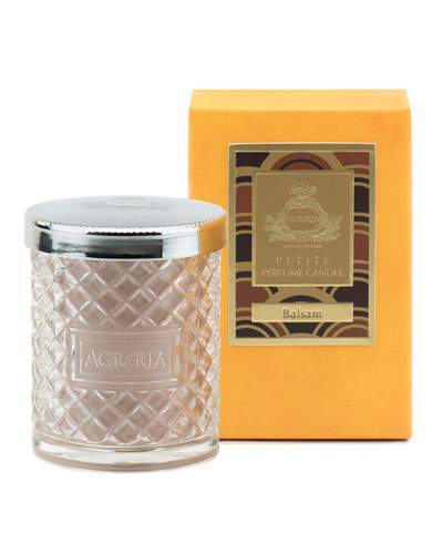 Agraria Balsam Crystal Cane Candle, 3.4 oz.