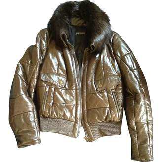 Fratelli Rossetti \N Brown Leather Leather Jacket for Women