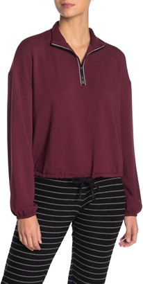 Beyond Yoga By Request Partial Zip Pullover