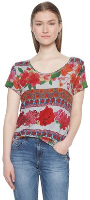 Desigual Women's Ts_Logan T-Shirt
