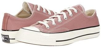 Converse Chuck 70 Organic Canvas Ox (Saddle/Egret/Black) Athletic Shoes