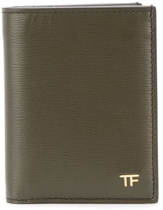 Tom Ford Logo Plaque Bi-Fold Wallet