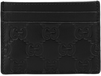 Gucci Signature leather card holder