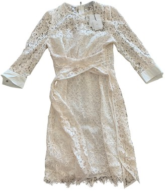 Sandro Spring Summer 2019 Ecru Lace Dresses