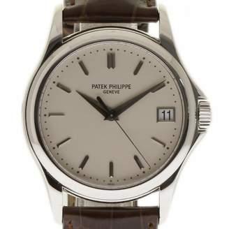 Patek Philippe Calatrava White White gold Watches
