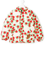 Mini Rodini floral padded jacket