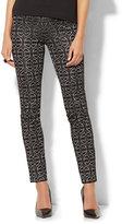New York & Co. 7th Avenue Pant - Legging - Pull-On - Jacquard