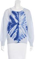 Raquel Allegra Cashmere Tie-Dye Sweater
