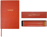 Sloane Stationery The Boss Pocket Notebook & Clever Pencils