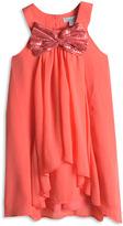 Pumpkin Patch Party Princess Sequin Bow Dress