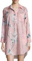Natori Sakura Printed Sleepshirt
