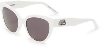 Balenciaga Acetate frame cat eye sunglasses