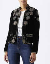Monsoon Stasia Star Velvet Jacket