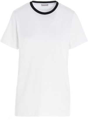 Moncler Back Printed Logo T-Shirt