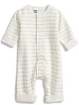 Petit Bateau Infant Girl's Stripe Romper