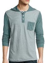 Arizona Hooded Henley Shirt