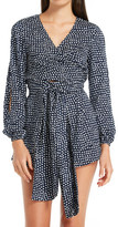 The Fifth Label Party Next Door Long Sleeve Playsuit