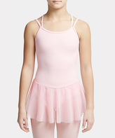 Capezio Pink Carefree Camisole Skirted Leotard- Girls
