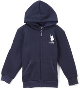 U.S. Polo Assn. Navy Zip-Up Hoodie - Boys
