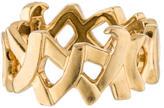 Tiffany & Co. 18K XO Band Ring