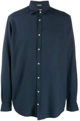 Massimo Alba long-sleeve fitted shirt