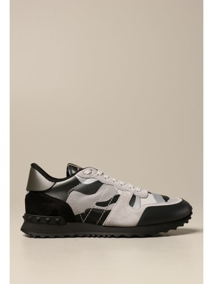 Valentino Camouflage Rock Runner Sneakers