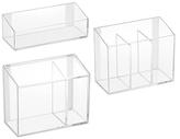 InterDesign Affixx Vanity Organizers Set (3 PC)