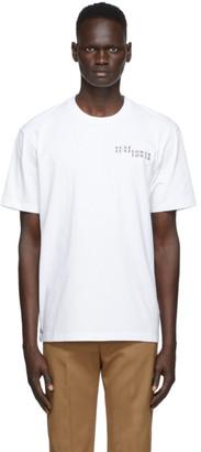Sunflower White Logo T-Shirt